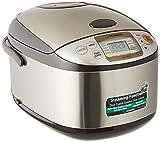 Zojirushi Rice Cooker NS-TSQ18, 220-230V (Stainless Steel Brown)