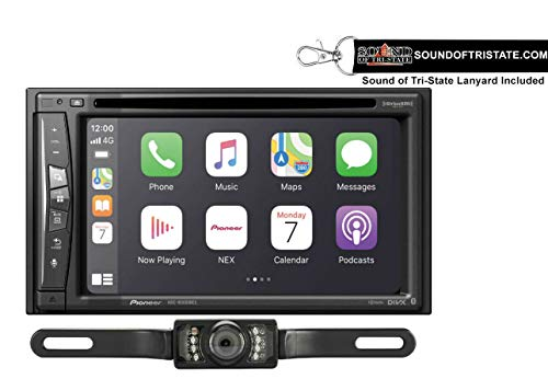 Great Price! Pioneer AVIC-W6600NEX 6.2 Navigation DVD Receiver + License Plate Backup Camera + Soun...