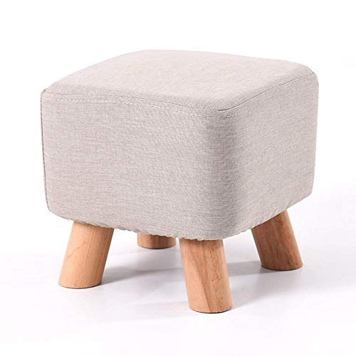 Creative trendy stool stool stool small square fabric sofa stool stool coffee table Bench Low stool Low stool for families,28 * 28 * 25cm