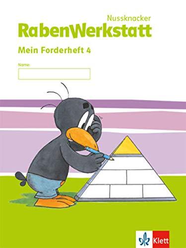 Nussknacker RabenWerkstatt 4: Mein Forderheft Klasse 4 (Nussknacker RabenWerkstatt. Ausgabe ab 2015)