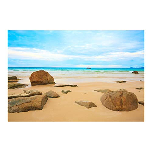 Fototapete selbstklebend - Rocky Beach - Wandbild Querformat 320 x 480 cm