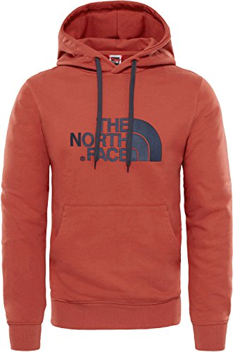 The North Face Lt Drew Peak Po HD Sweat à Capuche pour Homme XS Rosso (Bossa Nova Red)