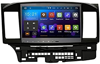 SYGAV Android Quad Core 10.2 Inch in-Dash Car Stereo Video Player 2 Din 1024x600 GPS Nav Sat for Mitsubishi Lancer Galant Radio