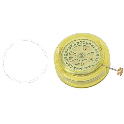 Movimiento de reloj, piezas de alta precisión Pantalla de calendario Pieza de repuesto Movimiento de reloj mecánico, Movimiento de reloj automático para relojeros de repuesto
