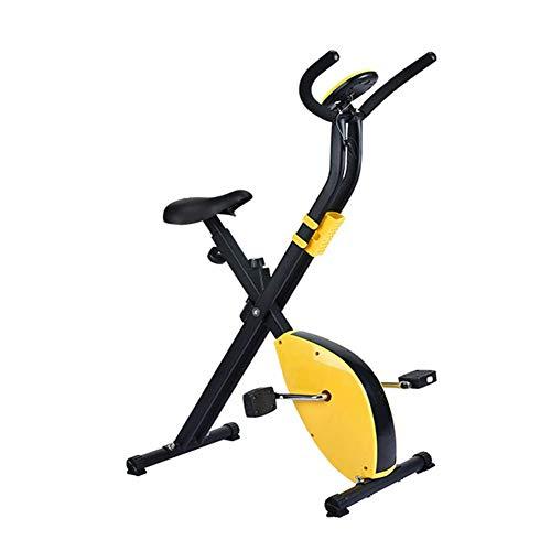 Opvouwbare Hometrainer Rechtop Hometrainer Fitness Cardio-Fietsen Lichtgewicht Fitnessapparatuur Voor Thuiskantoor Gym