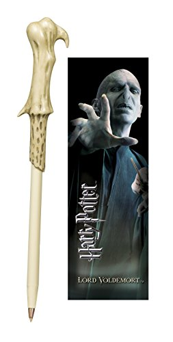 The Noble Collection Voldemort Zauberstab Stift und Lesezeichen