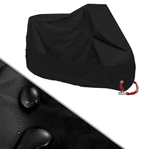Housse de moto imperméable, anti-poussière, très résistante, imperméable et respirante avec sac de rangement, XXXL