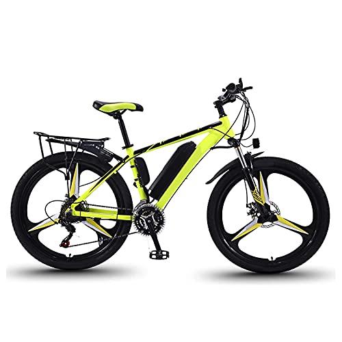 N&I - Bicicleta eléctrica eléctrica de 26 pulgadas, con motor de 350 W, 36 V/10 Ah, batería de 21 velocidades, doble disco