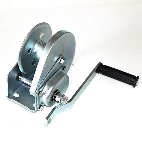 Seilwinde mit Bremse zum Ziehen 500 kg, Heben und Senken 200 kg. OHNE Seil. Handseilwinde, Handwinde, Bootswinde, verzinkter Stahl, TOP-Qualität. kontrolliertes Anheben und Absenken, gebremst.