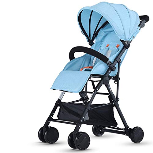 Lowest Price! Yyqt Baby Stroller, Stroller Ultra-Light Folding Can Sit Reclining Child Baby Umbrella...
