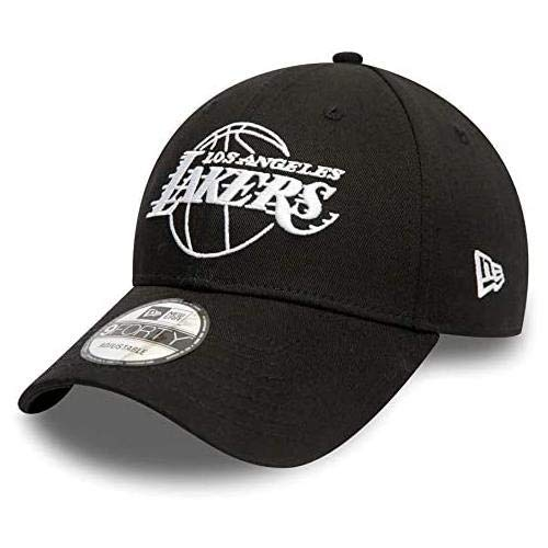 New Era NBA Essential Outline 940 Loslak Gorra, Unisex Adulto, Black, Talla Única