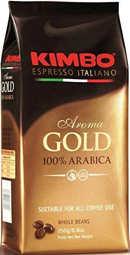 Kimbo Gold Espresso 100% Arabica, Espresso-Bohnen, 250 g