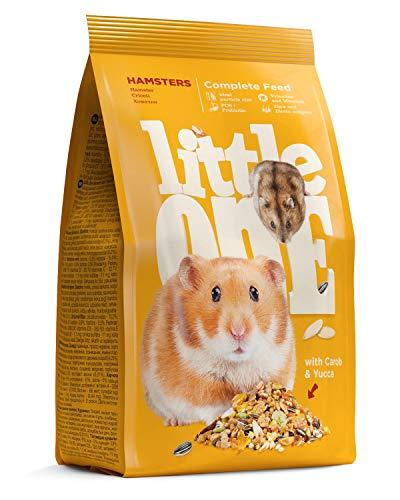 Little One Alleinfutter für Hamster im Beutel, 5er Pack (5 x 400 g)
