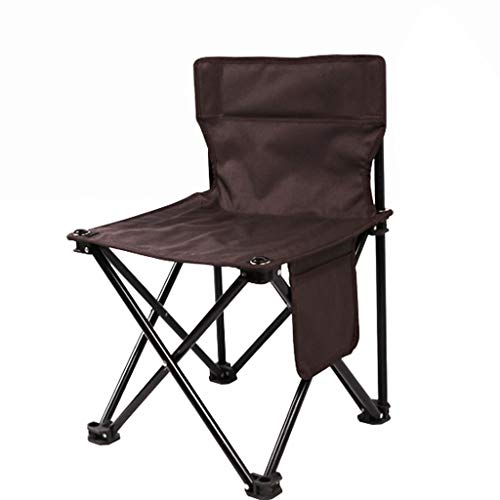 CJQW sillas de Camping Silla Plegable al Aire Libre con Bolsillos Laterales, Silla de Playa para Acampar portátil Home Fashion Lounge Silla Pesca Barbacoa Silla de boceto sillas Plegables