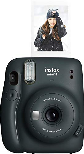 Fujifilm Instax Mini 11 Instant Camera - Charcoal Grey (16654786)