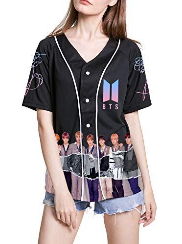 Dolpind Kpop BTS Jersey Love Yourself Shirt Jimin Suga V Jungkook Rap Jhope Jin Tshirt Merchandise