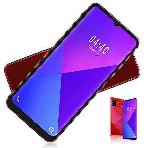 Smartphone, S30 Pantalla De Caída De 6,52 Pulgadas Cámaras Duales Teléfono Móvil Tarjeta Dual Doble Modo De Espera Huella Digital Desbloqueo Facial Teléfono Móvil Inteligente 2 + 16G(Enchufe de la UE)