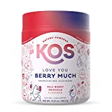 KOS Reds Superfood Powder - Beet Root, Goji Berries, Acai - Energy Booster, Circulation Support - Delicious Goji Berry Popsicle Flavor, 44 Servings