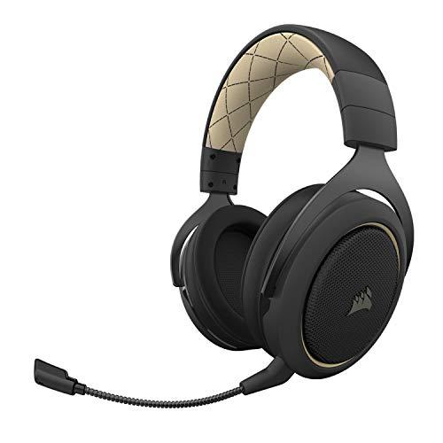Headset Gamer Corsair HS70 Pro Wireless 7.1 Surround - Preto e Creme CA-9011210-NA