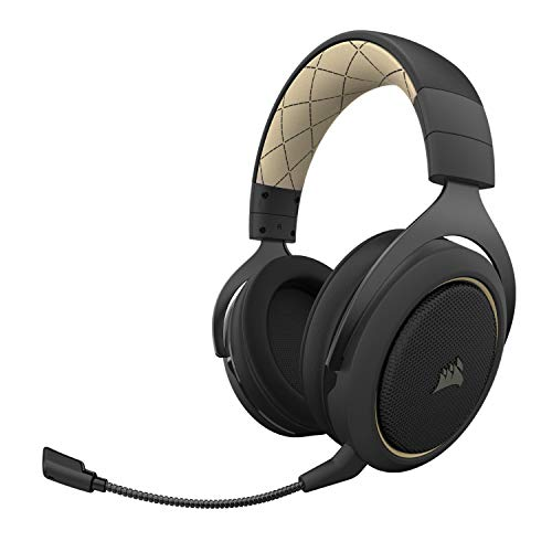 Corsair HS70 Pro Wireless Se Gaming Headset, Cream