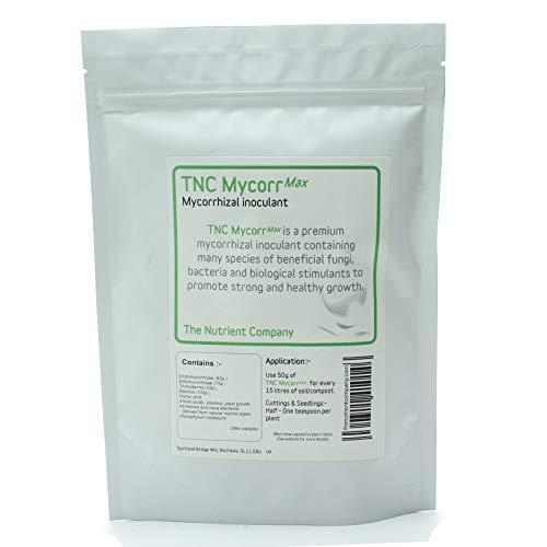 TNC MycorrMax – Premium Mykorrhiza pulver mit Trichoderma und bakterien - Endomykorrhiza – Ektomykorrhiza – Mykorrhizapilze günstig kaufen (75g)