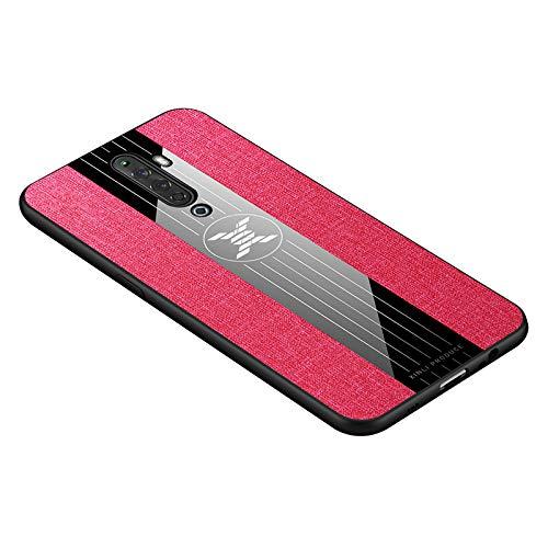 Custodia® Festigkeit Smartphone Hülle mit Ring Kompatibel für Oppo Reno2 Z(5)