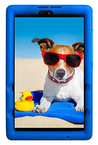 BobjGear Bobj Rugged Tablet Case for (20.3) Lenovo Tab M8 FHD (TB-8705F) Kid Friendly (Batfish Blue)