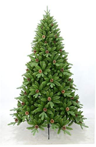 Scaramuzza Modo Albero di Natale 180 cm Artificiale in Silicone e PVC, Molto Folto e Realistico, Modello Optima