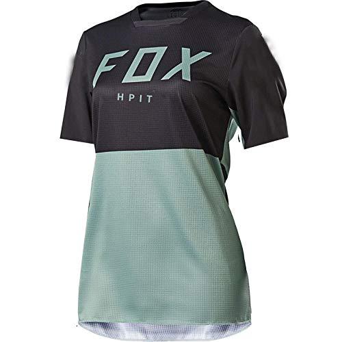 2021 Damen Downhill Trikots Hpit Fox Mountainbike MTB Shirts Offroad Dh Motorrad Trikot Motocross Sportbekleidung Kleidung Fxr Bike-S