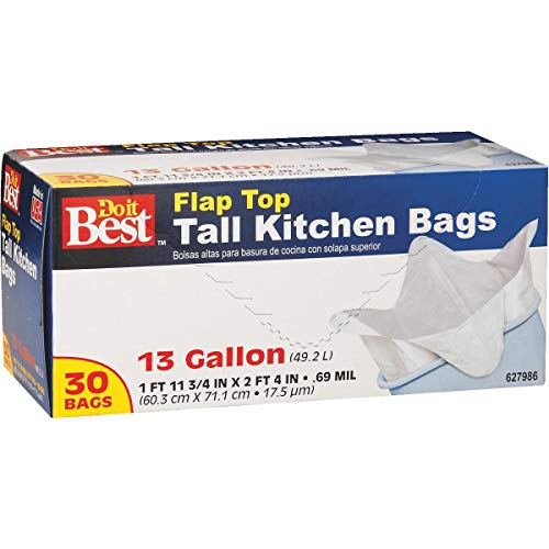 Do it Best Tall White Kitchen Trash Bag