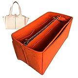 Organizador triple M, bolsa de fieltro para bolsa de fieltro, bolsa protectora para organizar el bolso (estilo B), naranja (Naranja) - JKS-B-49-Orange