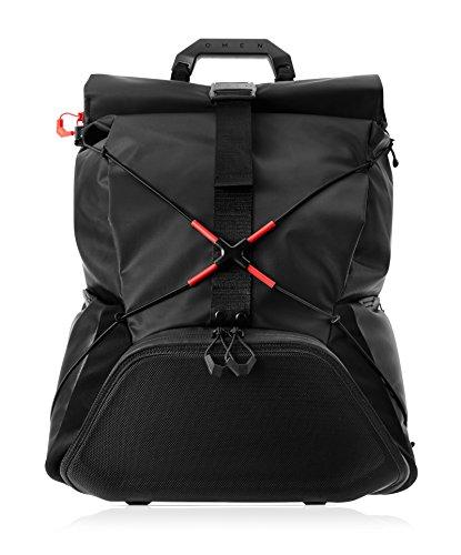 "HP OMEN X by Transceptor Backpack maletines para portátil 43,2 cm (17"") Mochila Negro - Funda (Mochila, 43,2 cm (17""), Expandible, 2,39 kg, Negro)"