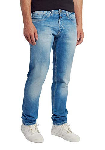 Kaporal - Jean au Dos Coupe Straight - Kast - Homme - 33 - Bleu