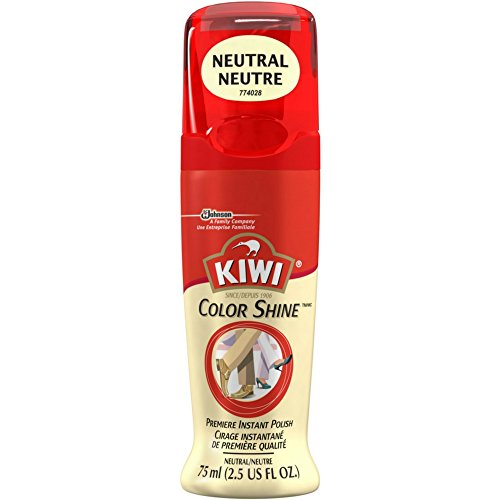 KIWI Leather Premiere Shine Shoe Polish, Neutral 2.5 oz