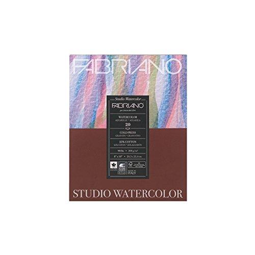 Fabriano Studio Watercolor Pad 8X10 CP 200G