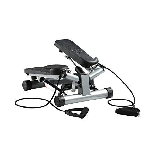 zoomyo Peak Power Up-Down/Swing - Stepper, attrezzo Compatto per Il Fitness a casa, Ideale per allenare Schiena, Gambe, Glutei (Swing Stepper)