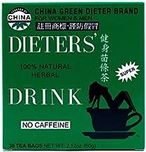 Uncle Lee's Tea Dieter's Drink Weight Loss Herbal Tea 100 Percent Natural No Caffeine - 30 Tea Bags, Pack of 3