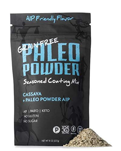 Paleo AIP Seasoned Breading Mix | Cassava Root with AIP Seasoning Paleo Mix for all Paleo Diets | Certified Keto Food, Gluten Free, No MSG, No Additives, No Anti-Caking Agents, No Added Sugar.