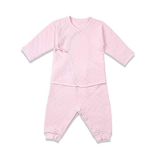 i-baby Conjunto de Traje de bebé de algodón Pima Premium Matelasse, empacado en Caja (3-6meses, Rosado)