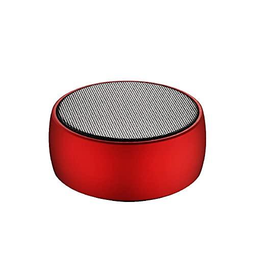 SHANYUAN Altavoz Bluetooth Vibes portátil, Audio de Altavoz inalámbrico portátil, Walkman, Pistola de Acero pequeña, Adecuado para Exteriores, Familia,Red