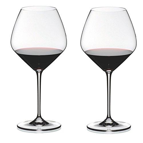 RIEDEL Heart to Heart - Juego de Copas de Pinot Noir (2 Unidades)