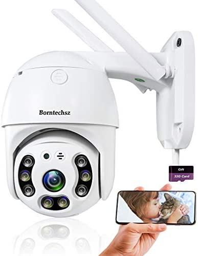 Auto Tracking WiFi IP Camera Pan Tilt Security Camera 1080P Dome Surveillance Cam Two Way Audio product image