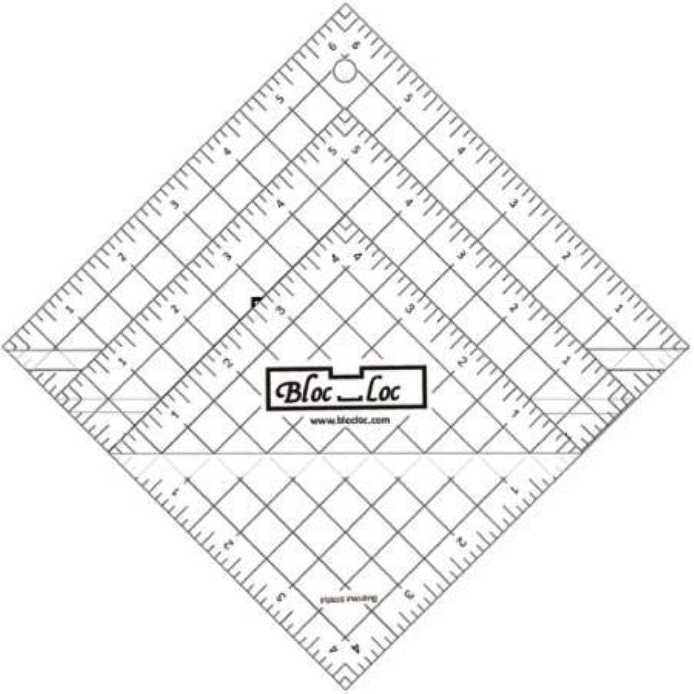 Bloc Loc~Half Square Triangle Ruler Set #2-2.5