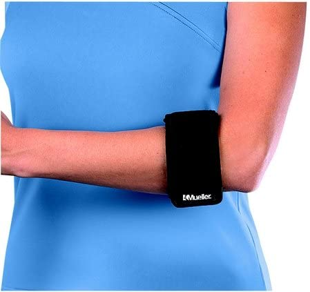 Mueller Tennis Elbow Support Black One New mail order of Pack Size Fits Most Limited Special Price