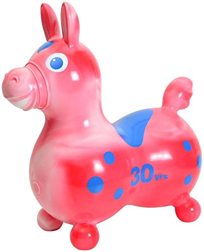 Gymnic 30th Anniversary Rody Horse - Red by Gymnic