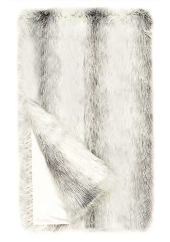 Donna Salyers' Fabulous-Furs Limited Edition Icelandic Fox Faux Fur Throws (60x86 in) (Icelandic Fox) -  Fabulous Furs