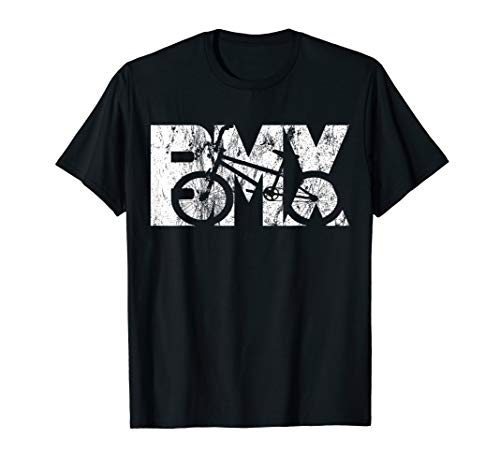 BMX Vintage Fahrrad Fans Kinder Geschenk Jungs Jugend T-Shirt