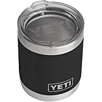 YETI Rambler 10 oz Lowball, Vacuum Insulated, Stainless Steel with Standard Lid