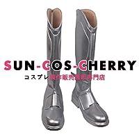 【サイズ選択可】コスプレ靴 ブーツ Z4-0798 プランダラ リヒトー=バッハ 坂井離人 さかい りひと 女性24.5CM