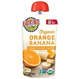Earth's Best Organic Stage 2 Baby Food, Orange Banana, 4 Oz (Pack of 12) (Packaging May Vary)